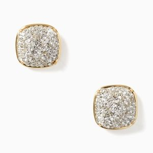 NEW Kate Spade Square Stud Earrings